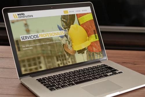 SITIO WEB WORKS CONSTRUCTORA